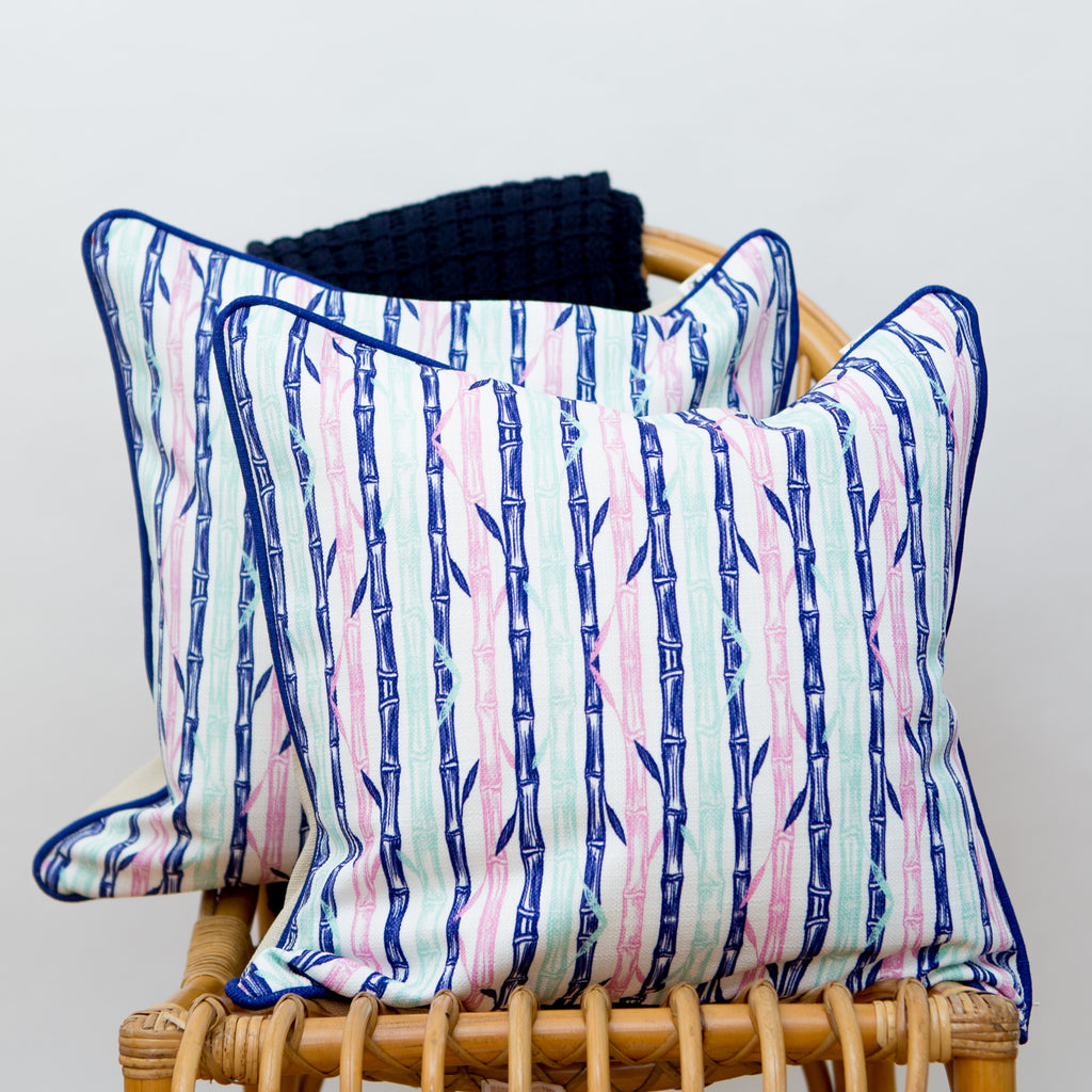 Bamboo Trellis Pillow