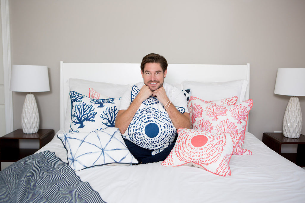 SDS x Thomasville Collection: Coral Medallion Pillow