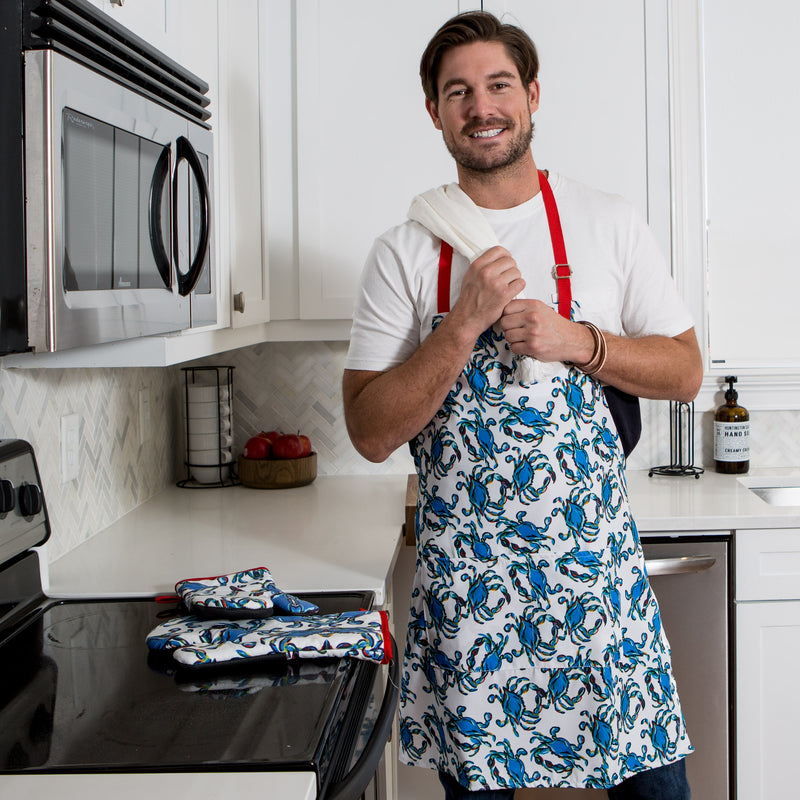 Crab Craze Apron
