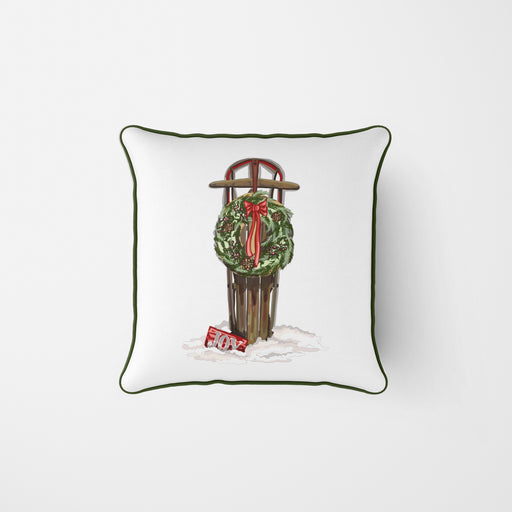 Holiday Sled Pillow