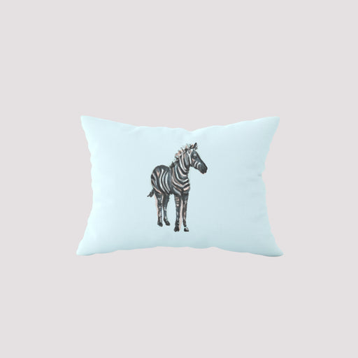 Safari Zebra Sky Lumbar Pillow