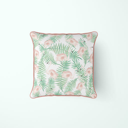 Flock of Flamingos Pillow