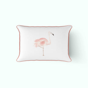 The Flamingo Lumbar Pillow
