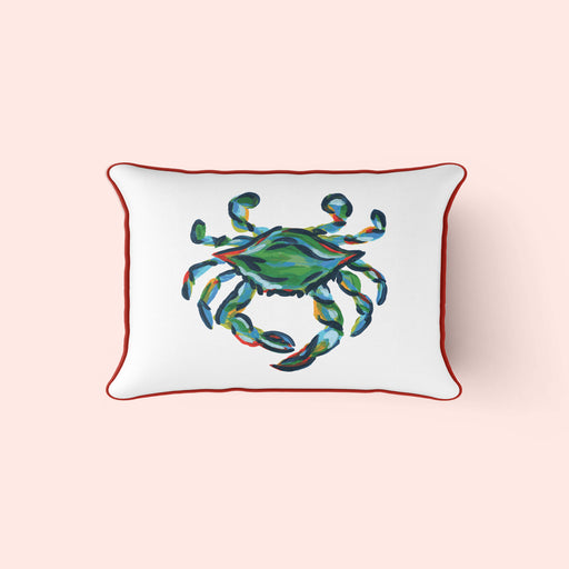 The King Crab, Lumbar Pillow Cover