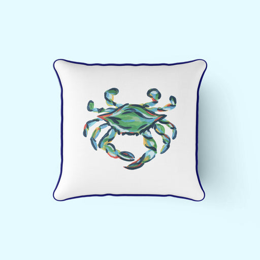 King Crab Pillow with Navy