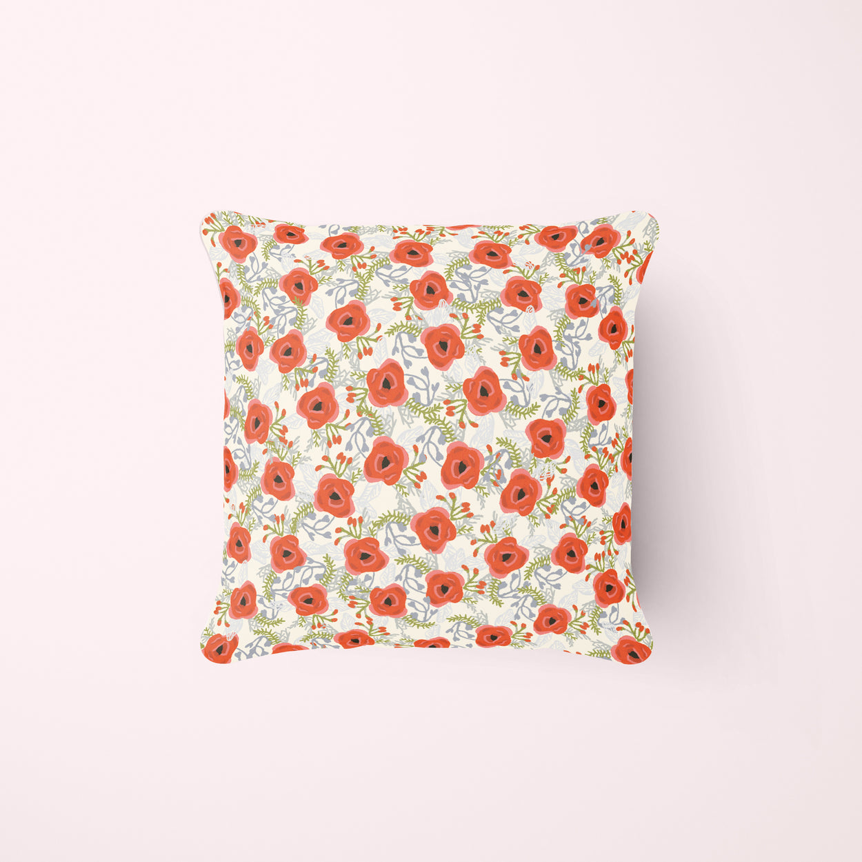 Poppies Pillow