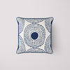 SDS x Thomasville Collection: Navy Medallion Pillow