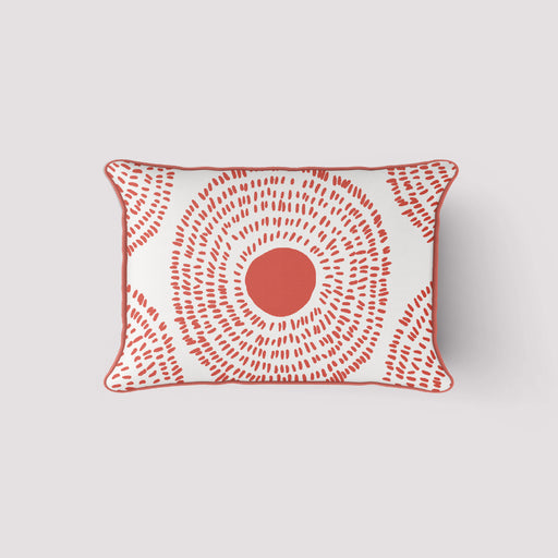 SDS x Thomasville Collection: Coral Medallion Lumbar Pillow