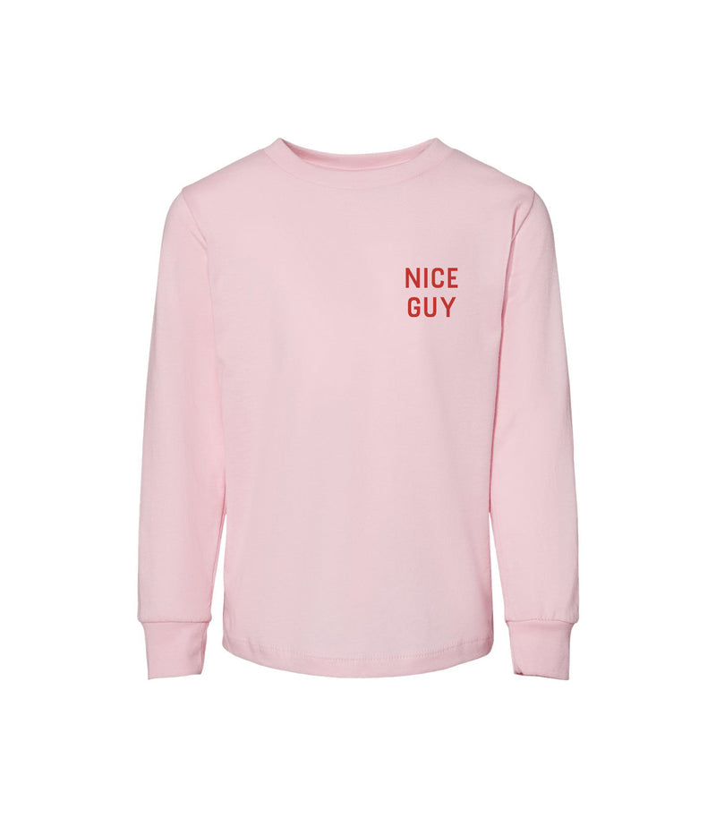 NICE GUY TODDLER Collection: Long sleeve