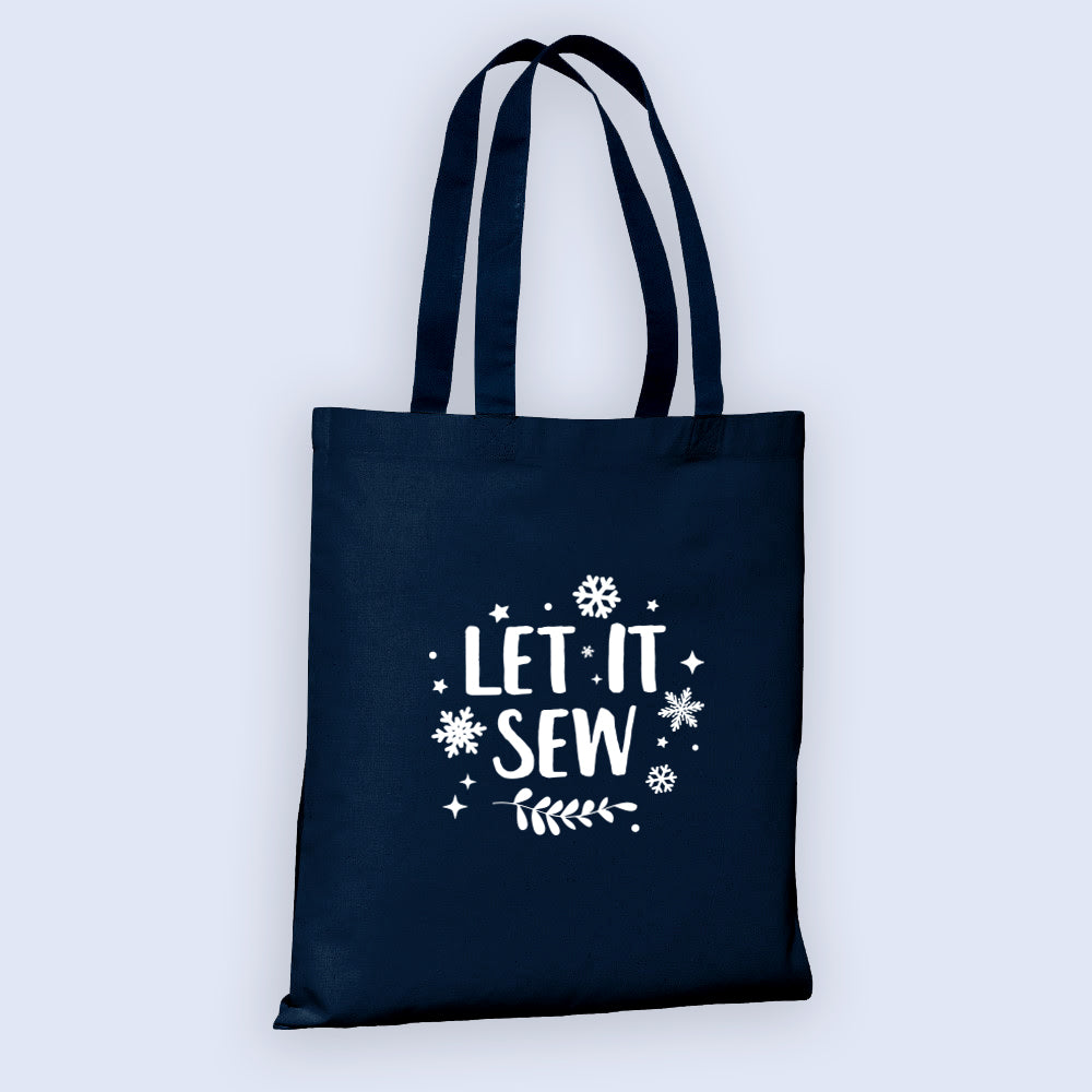 *NEW Holiday Collection* Let It Sew Tote