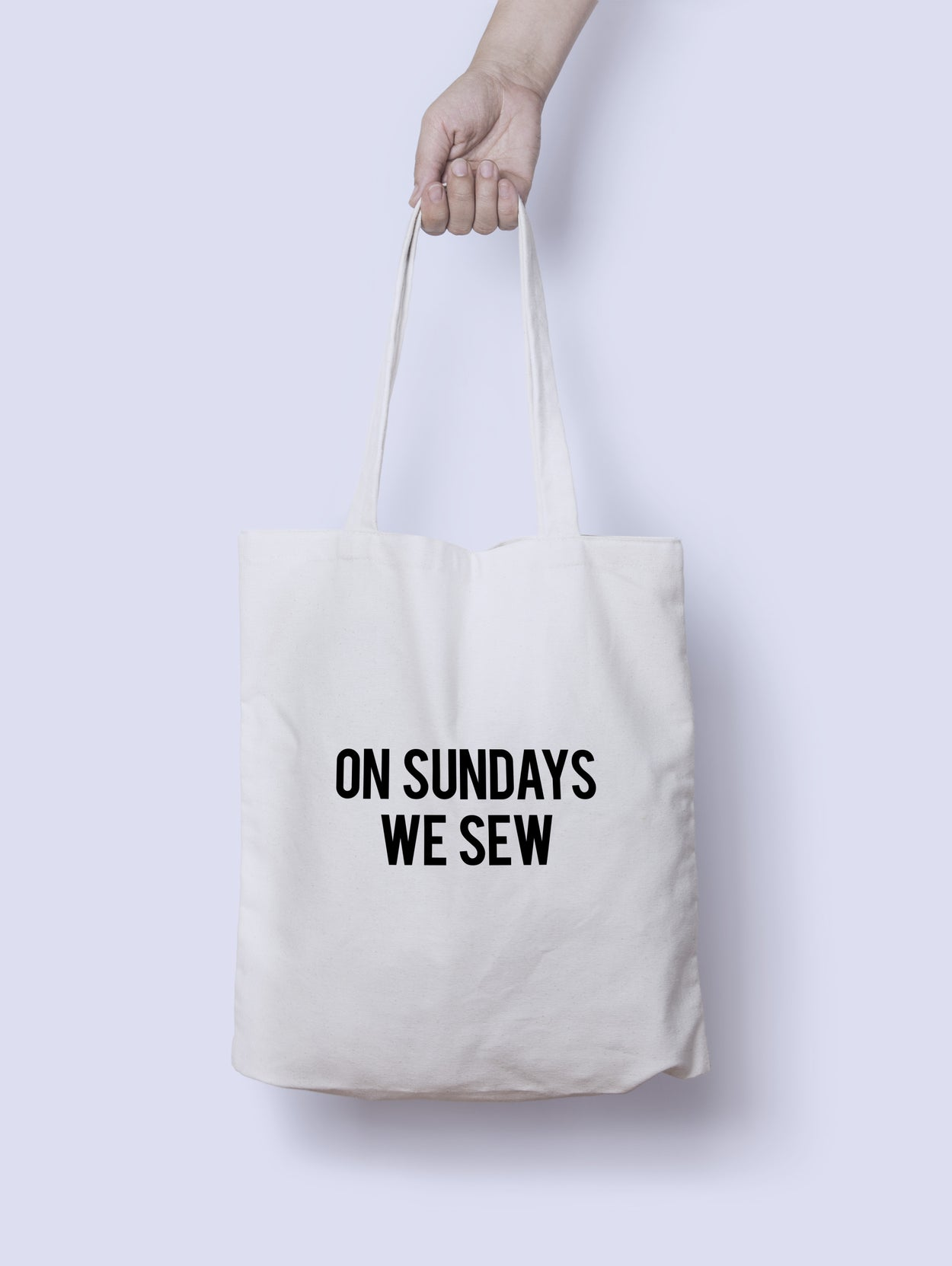 On Sundays We Sew Tote