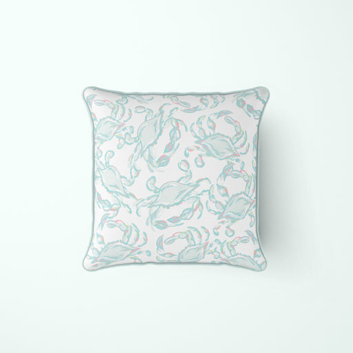 Pastel Crab Craze Pillow