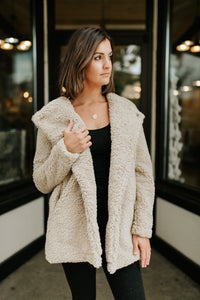 Furreal Lapel Coat