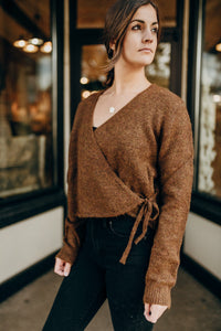 Brandi Wrap Sweater