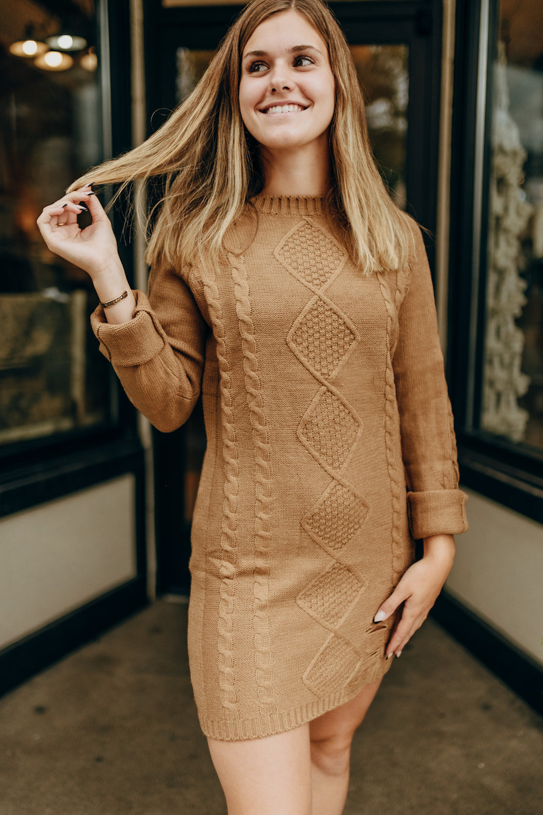 Jade Sweater Dress