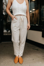 Load image into Gallery viewer, Penelope Pinstripe Lounge Pants
