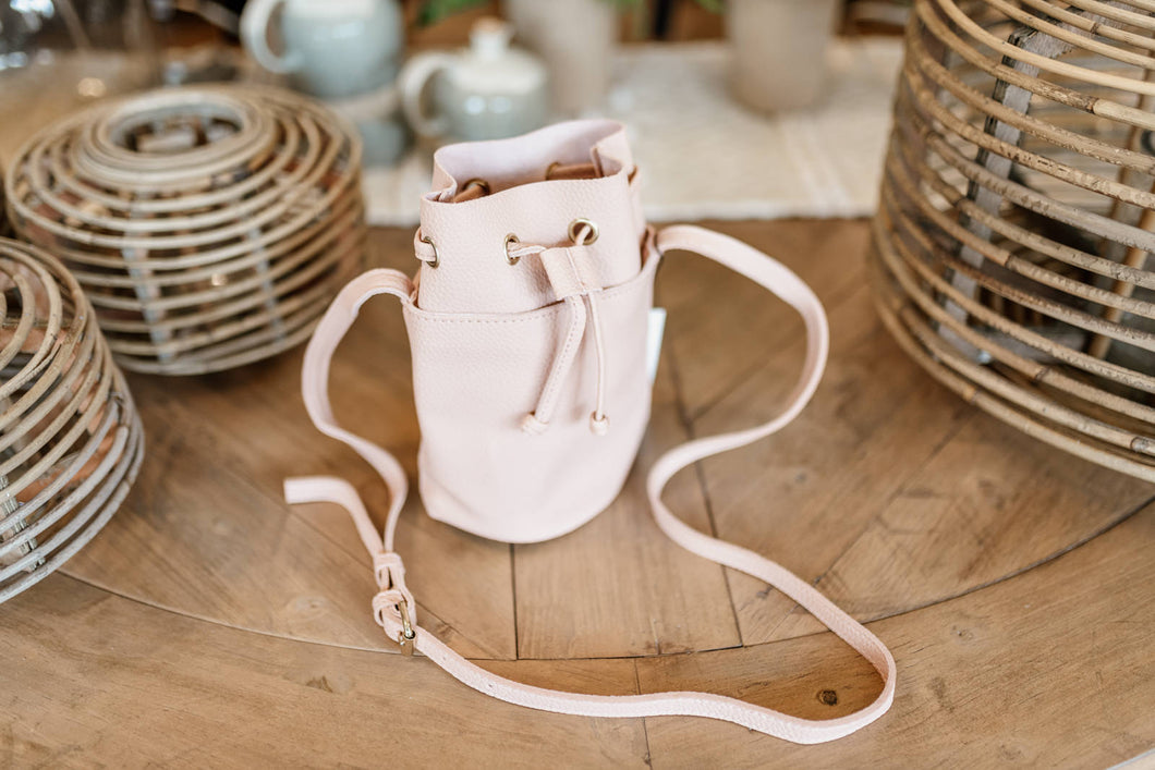 Blush Bucket Bag
