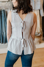 Load image into Gallery viewer, Breezy Peplum Tank