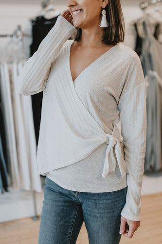 Easy Sunday Wrap Top