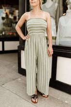 Load image into Gallery viewer, Sierra Smocked Jumpsuit