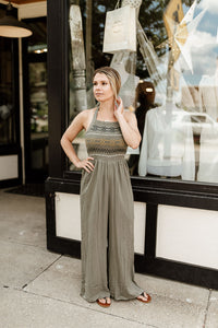 Eliza Embroidered Jumpsuit