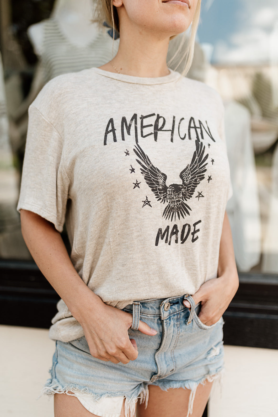 American Made Graphic Tee