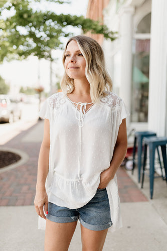 Charley Lace Top