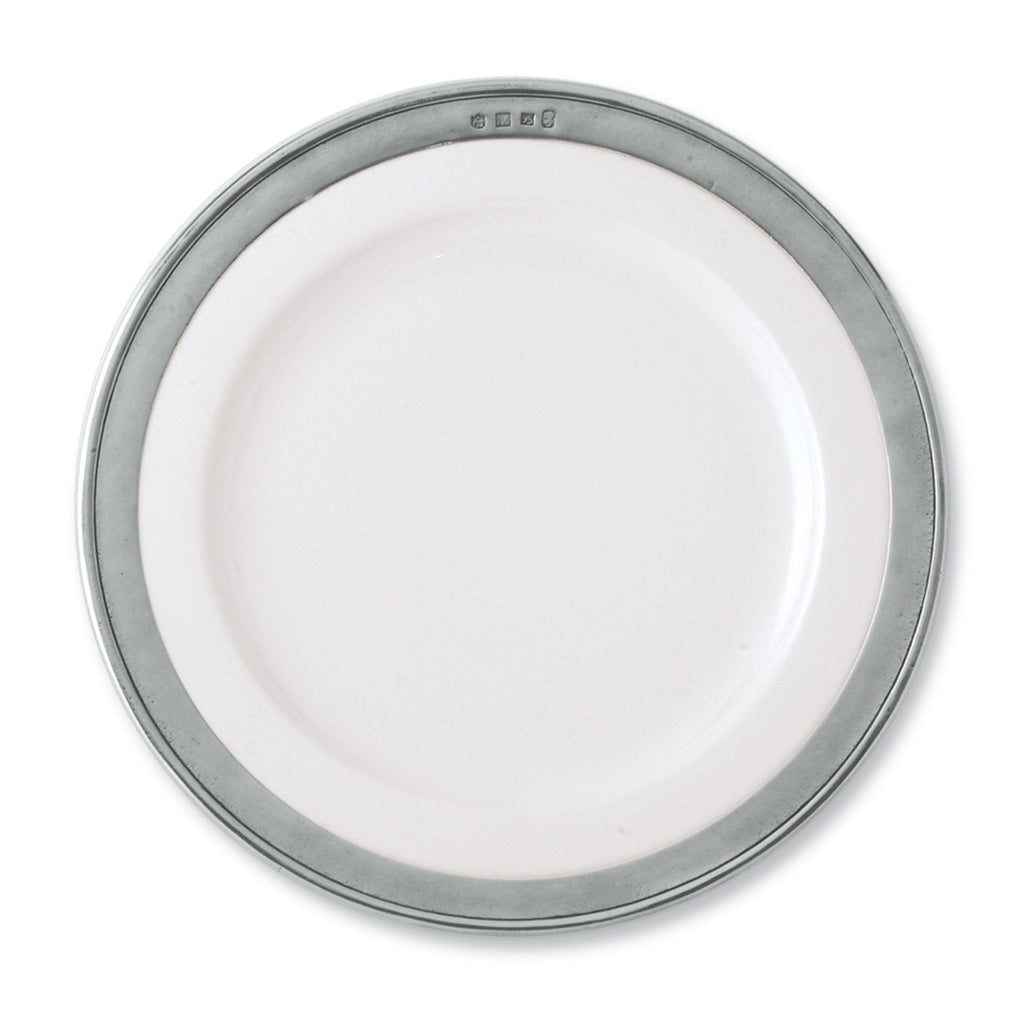 Match Convivio Buffet Plate, White
