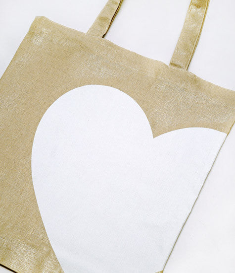 Wedding Library Accessories Heart Tote