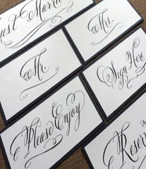 Wedding Day Sign Kit