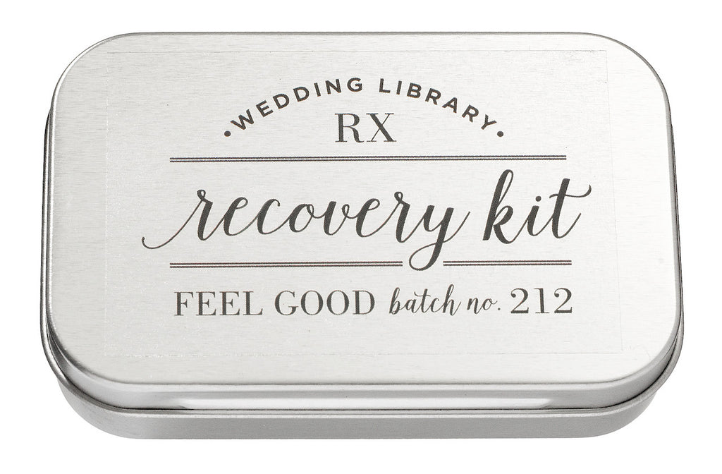 Wedding Library Recovery Kit