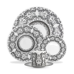 Caskata Yorkshire Hedgerow 5-piece Dinner Setting