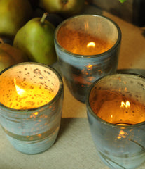Roost Mineral Tealight Holders S/6