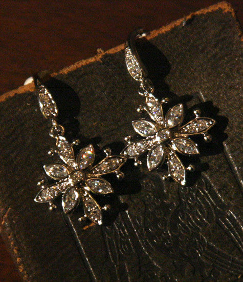 Snow Star Earrings