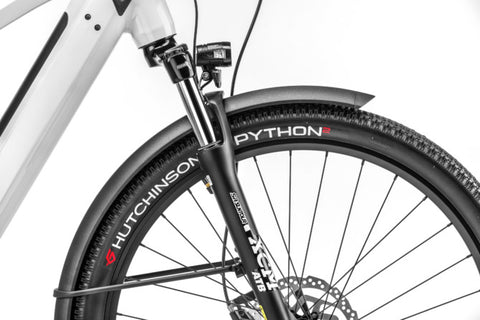 Moustache Hutchinson Python tires and Suspension seatpost