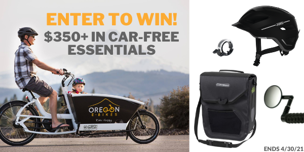 Car-Free Friday Giveaway $350 in prizes