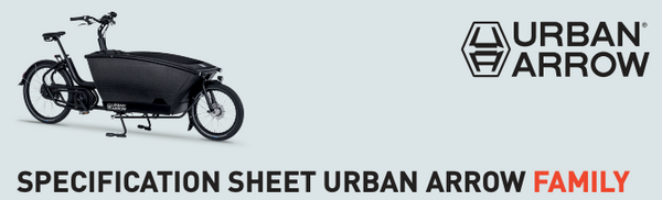 Urban Arrow Family Spec Sheet