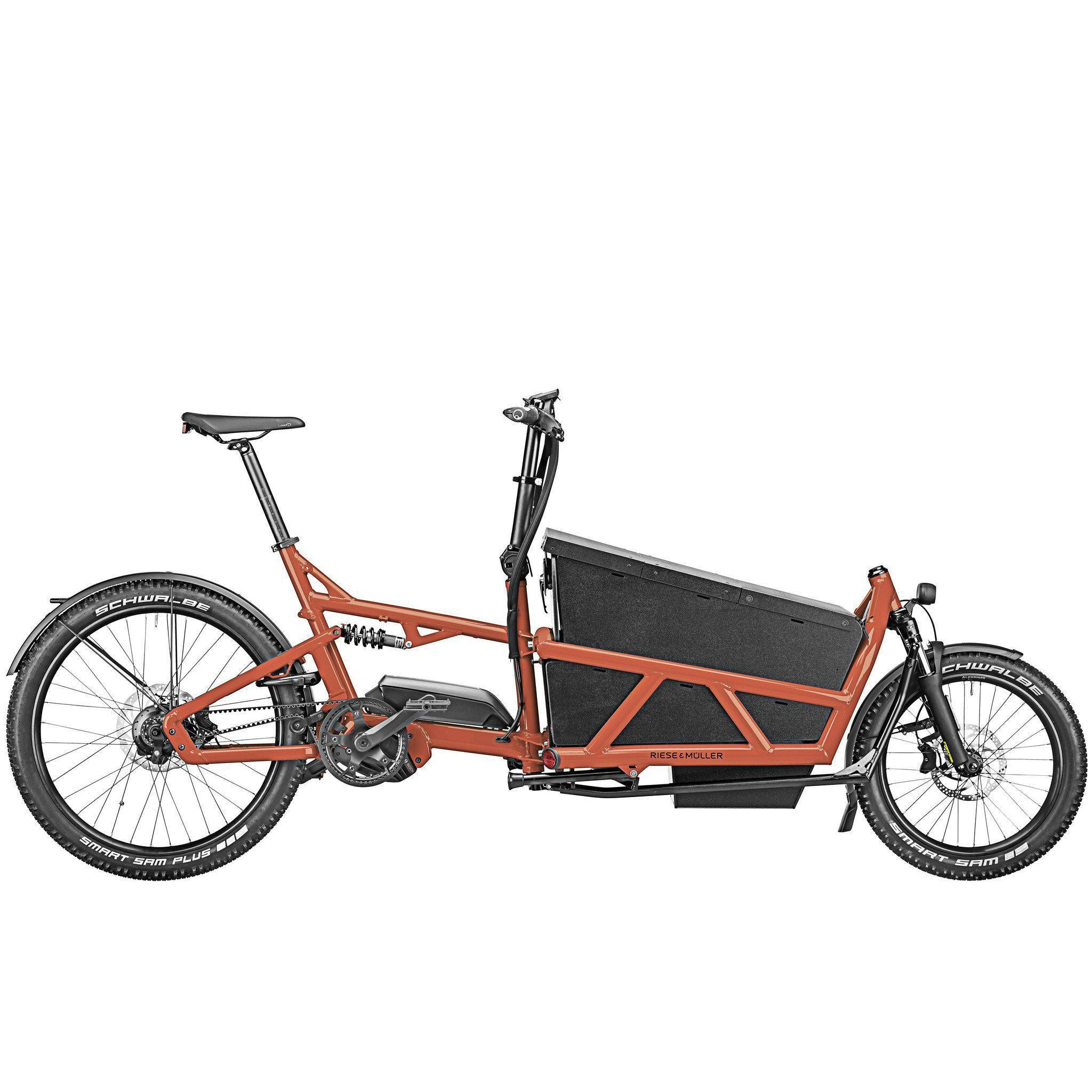 Riese & Müller Electric Bikes Load 60 Touring HS-Oregon E-Bikes
