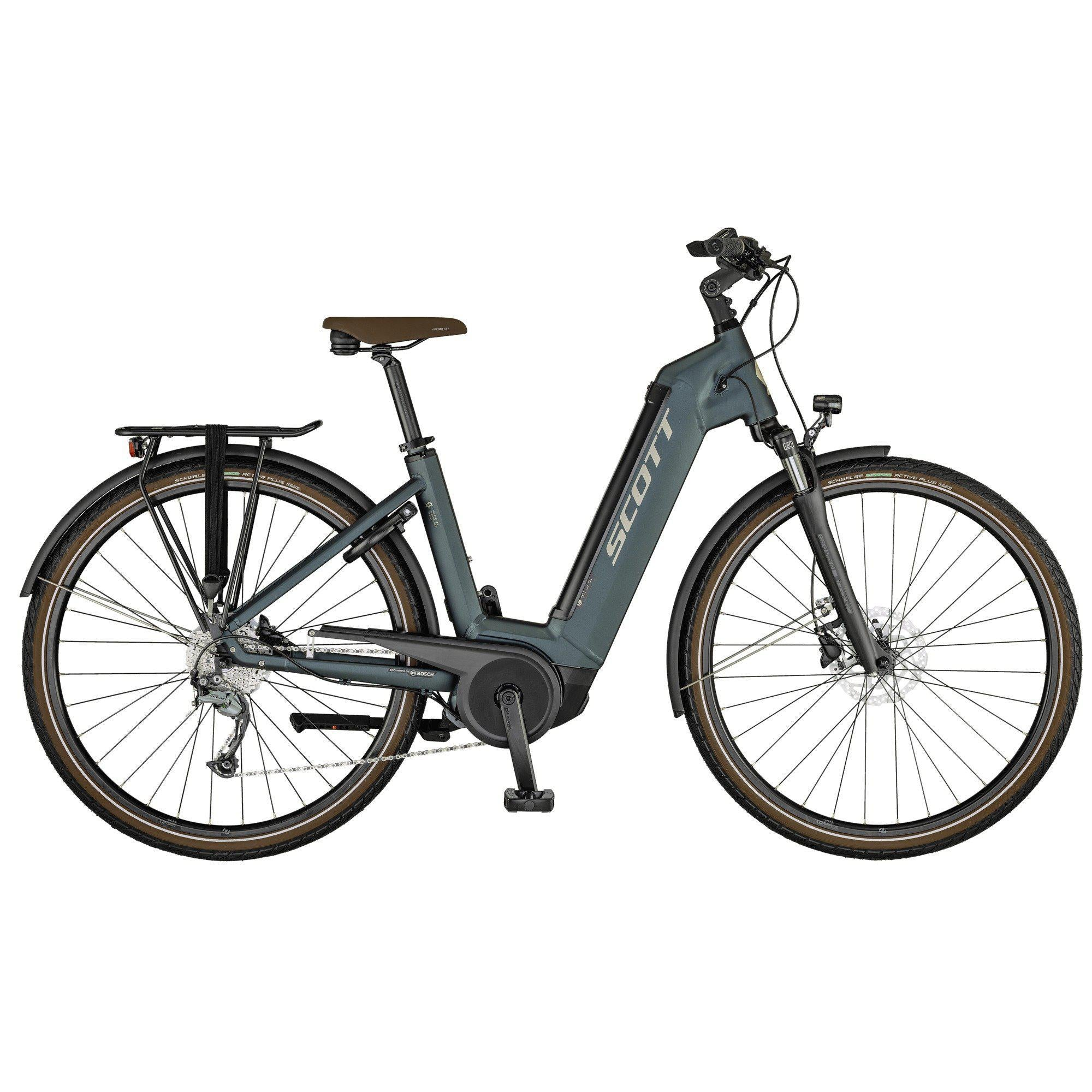 Scott Sub Active eRide Unisex-Oregon E-Bikes