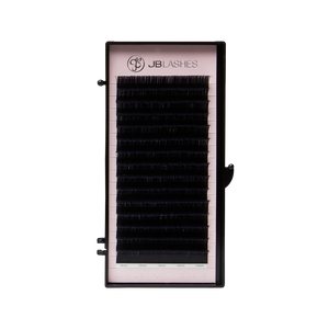 Ultra-Light Flat Matte Lashes, D-Curl 666