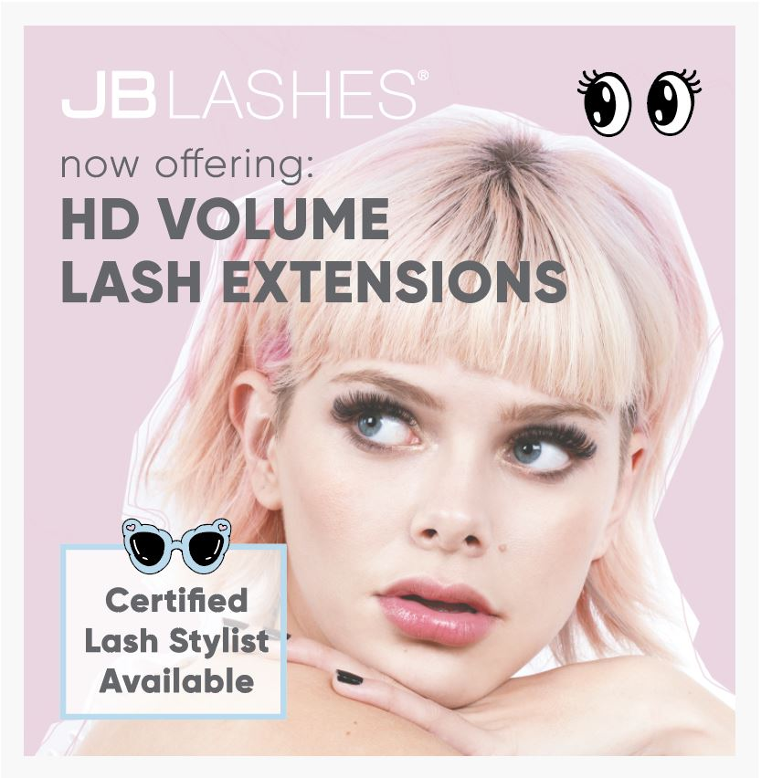 HD Volume Lashes Window Cling
