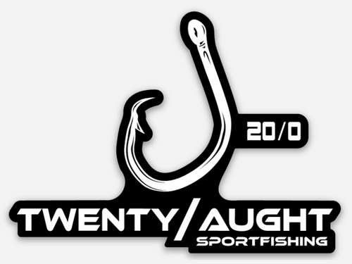 Twenty/Aught Hook Decal