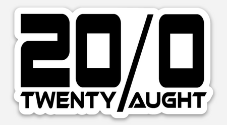 20/0 Decal