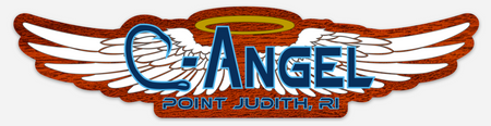 C-Angel Transom Sticker