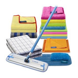 Home Cleaning Pack with Deep Clean Mop