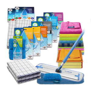 Home Cleaning Pack with Deep Clean Mop Bundle