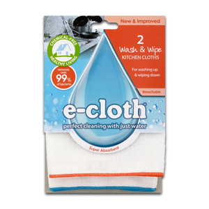 2 Wash & Wipe Kitchen Cloths