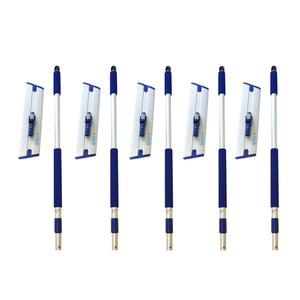 Deep Clean Mop Handles and Bases - 5 Pack