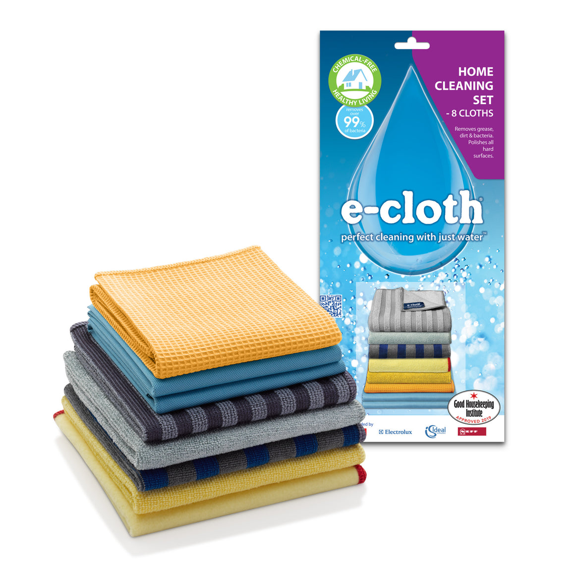 8 Cloth Home Cleaning Set