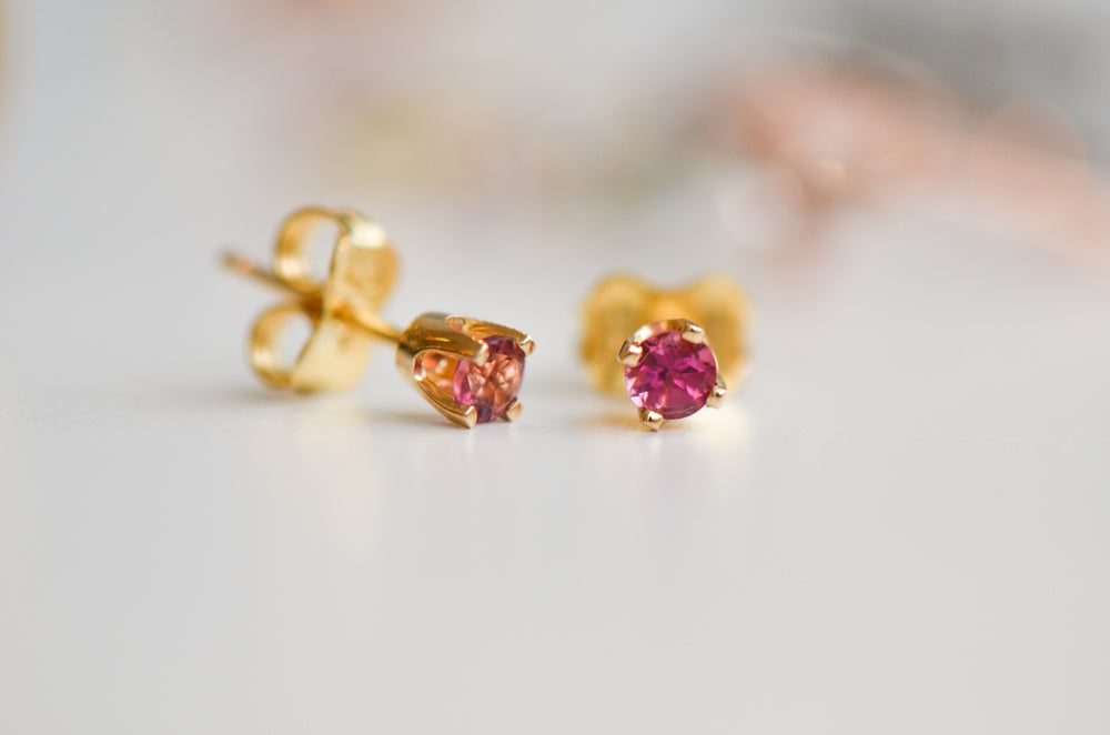 Tourmalines earrings